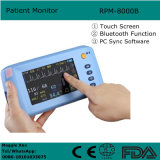 5 Zoll-Screen-Patienten-Überwachungsgerät ECG, NIBP, SpO2, Pulsschlag Bluetooth Funktion - Maggie