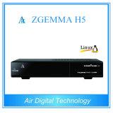 New Version H. 265 Combo Decoder Zgemma H5 met dvb-C/T2 Tuner dVB-S2+Hybrid