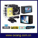 """2 da """" o esporte cheio DV tela HD Waterproof a câmera larga do esporte do Wi-Fi do ângulo 170 de 30m"""