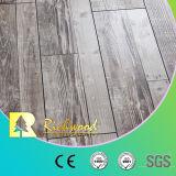 Pavimentazione laminata V-Grooved della quercia laminata di legno del legname 12.3mm E0 HDF AC4 del teck