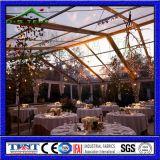 Торговая выставка рекламируя стеклянный шатер для шлюпки