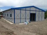 Construction modulaire à la maison préfabriquée en acier environnementale de Chambre de Reuable
