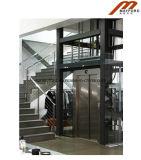 Лифт виллы с стеклянным автомобилем кабины