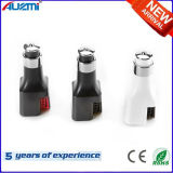 Carregador duplo do carro do USB da Mult-Função com o ar do aníon limpo