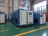 Compresseur d'air refroidi par air électrique industriel de la vis 132kw