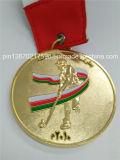 Ferreteria Brenesコスタリカは遊ばすメダル光沢がある金の円形浮彫り(JINJU16-005)を