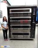 Functie van het Baksel van de Oven van het Dek van de Bakkerij van de Stoom van het Gas van Pavailler de Enige (zmc-420M)