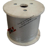 316 câble métallique d'acier inoxydable de 7X7 1.5mm