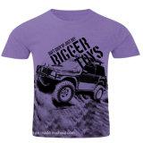 T-shirt Heathered d'hommes du Jersey de poids léger en gros (A031)