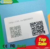Carte d'adhésion en plastique de code barres de code du système QR de fidélité