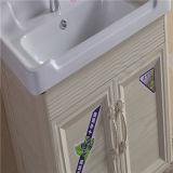 Vanité en aluminium fixée au mur de salle de bains de qualité