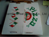 Rectángulo natural de la pizza de la cartulina de la mirada (PZ-059)