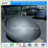 Acero inoxidable de los casquillos de extremo del diámetro grande 304 casquillos de extremos servidos
