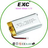 Batterien des Lithium-Plastik-902445 des Nachladen-3.7V800mAh für Spielzeug-Auto