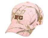 高品質ピンクのCamouflagueは野球帽を遊ばす