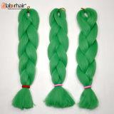 Extensão superior Lbh 020 do cabelo da trança de Kanekalon do cabelo do Synthetic da trança 100% do cabelo da classe