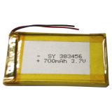 3,7 V recargable de polímero de Li-batería de litio para el teléfono inalámbrico
