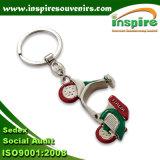 trousseau de clés de porte-clés en métal 3D pour des cadeaux de promotion