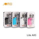 Vaporizador innovador de Jomo Lite Aio 40W del cigarrillo de la prueba E del niño 1300mAh con el vatiaje ajustable 20W~40W