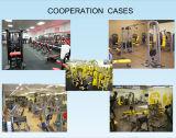商業体操装置は強さのトレーニングのための二頭筋のカールをつけた
