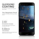 Protecteur en verre en soie d'écran d'Accessoriestempered de cellules/téléphone mobile d'impression de pleine couverture de colle de bord pour un plus 5