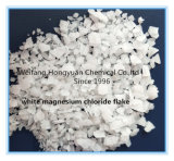 白いマグネシウムの塩化物の薄片