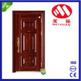 La porte principale de Chambre moderne conçoit la porte en acier de garantie
