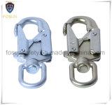 Ganchos de leva industriales del broche de presión del ojo del eslabón giratorio del laminado del cinc