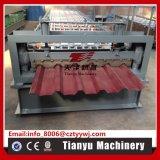 A cor laminada revestiu o rolo de aço da telhadura do painel que dá forma à máquina
