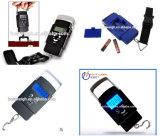 최신 판매 Hostweigh 파란 LCD 디스플레이 경편한 디지털 여행 가늠자