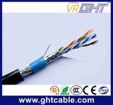 Cabo ao ar livre do cabo SFTP Cat6e da rede Cable/LAN