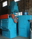 Q326c Rideau à caoutchouc Rubber Wheel Abrator / Shot Blast Cleaning Machine
