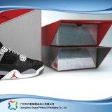 Gewölbtes Papier-Verpackungs-Kleid-Kleidung-Schuh-Fach-Kasten (xc-aps-008)