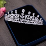 Brinco das mulheres da colar da noiva da coroa do casamento