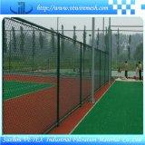 PVC revestido cerc a barreira usada em campo Sporting