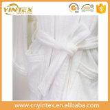 Peignoir de bonne qualité du service des douanes 100%Cotton de peignoir de prix de gros