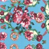 習慣100%の絹ファブリックデジタル織物印刷(TLD-0055)