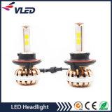 安い価格H7 H3 H4 9005ファンが付いている9006 H11 LEDの自動ライト