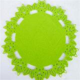 Coaster absorvente Non-Slip de Trivets das esferas de feltro do Coaster