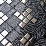 Europäische Art-Drucken-Mosaik-Fliese formt, deckt Glasmosaik mit Ziegeln