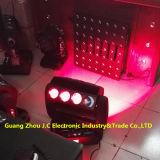2016newest 16PCS 25W RGBW 4in1 LED 360degrees Phantomrollen-Träger-bewegliches Hauptlicht