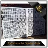 Portello di entrata di alluminio della villa del taglio del laser