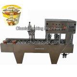 Máquina automática del lacre del tazón de fuente de los tallarines inmediatos