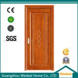 Cutomize Interior de roble de madera de PVC centro hueco de la puerta