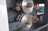 De hojas múltiples de madera vio la máquina para cortar redondo del registro o de los tablones usado