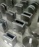 Quadratische Glasschelle für Treppenhaus-Glasgeländer für das 42.4mm Gefäß