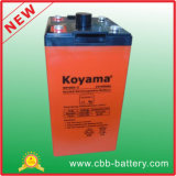 bateria estacionária para telecomunicações, banco do AGM de 2V 400ah VRLA da bateria