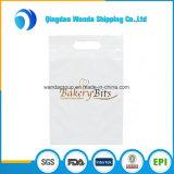 Kundenspezifische Drucken-LDPE gestempelschnittene Einkaufstasche im Satz