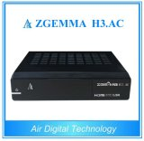 H3 de Zgemma du système d'exploitation linux Enigma2. AC avec le Placer-Dessus-Cadre de tuner du combo DVB-S2 ATSC
