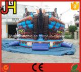 Diapositiva inflable gigante de la nave de pirata para la venta
